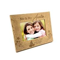 Me and My Auntie Love You To The Moon Photo Frame Gift FW163