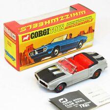 Corgi Toys - 343 Pontiac Firebird Whizzwheels - Boxed Playcraft Die Cast Vintage