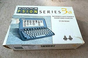 PSION SERIES 3a 512K RAM 1993, original box, books, working and still beautiful