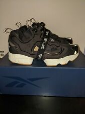 adidas x Reebok Instapump Fury Boost Black US 10.5 Vegan Leather FU9239