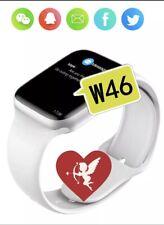 Smartwacht W46 Uomo Donna Orologio Con FrequemzaCardiaca ECG Pressione Sanguigna