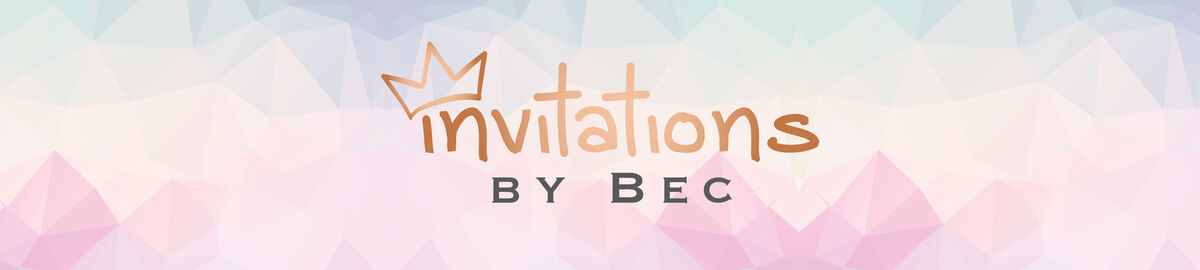 Invitations By Bec