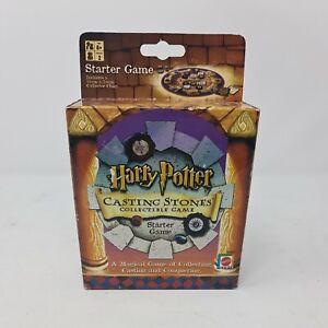 Harry Potter Casting Stones Starter Game 2001 Mattel BNIB Free Postage