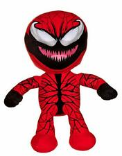 "OFFICIAL MARVEL COMICS SPIDERMAN VILLAINS CARNAGE LARGE 12"" PLUSH SOFT TOY BNWT"