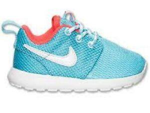 Nike Toddler Girls Rosherun Casual Shoes 659374 402 Size 8C