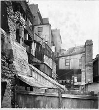 Photo 1900 Sydney Australia End of Glouchester Street - Bubonic Plague Clean Up