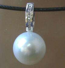 Collane e pendagli di lusso perla in oro bianco