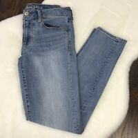 American Eagle Size 6 Short Skinny Jeans Light Wash Stretch