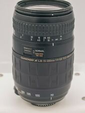 Quantaray 70-300mm F4-5.6 AF LD 1:2 Macro Nikon F Mount FX DSLR Camera Lens