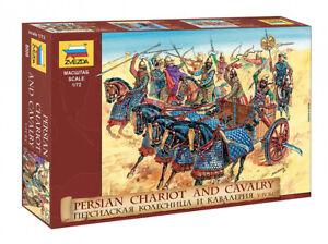Persian Chariot And Cavalry V-IV B. C.8008 ZVEZDA 1:72 New!