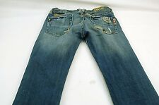 "Miss Me 25 (25W,30L,6""Rise) Destroyed Distressed Patched Denim Jeans #S963"