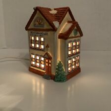 Americana Porcelain Collectable - Boarding House Christmas Decorations Used