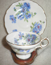 Vintage Hammersley Cornflower Bone China - tea Cup & Saucer