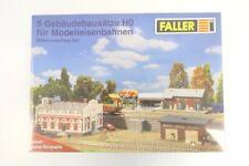 (KNM298) Faller H0 Güterumschlag-Set (5 Gebäudebausätze) OVP