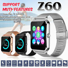 Z60 bluetooth Smart Phone Watch Remote Camera GSM SIM HD Screen Student Adults
