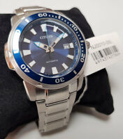 CITIZEN Automatic Promaster DIVING WATCH MEN NJ0010-55L Analog Stainless Steel