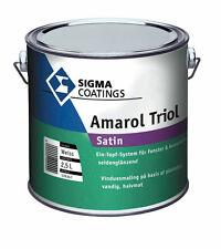 SIGMA Amarol Triol satin 1 Liter weiss  seidenglänzendes Ein-Topf-System