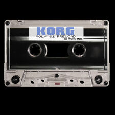 KORG POLY-61 Poly61 Synth  Data Cassette Tape - restore Factory patches!
