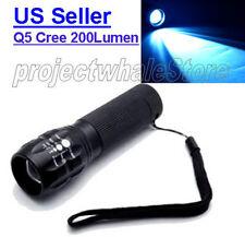 Cree Q5 Led Flashlight Torch Adjustable Focus Zoom Super Bright -Ship from U.S.