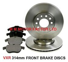 VAUXHALL VECTRA C VXR 2.8 TURBO (2004-) FRONT BRAKE DISCS AND PADS SET