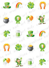 20 Nail Decals * St Patrick's Day Assortment* Water Slide Nail Art Decals Cute!