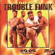 Trouble Funk - E Flat Boogie - New Factory Sealed CD  True Funk