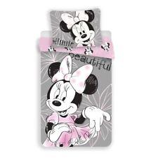 Disney Minnie Mouse Beautiful Dress Single Duvet Cover 100% Cotton