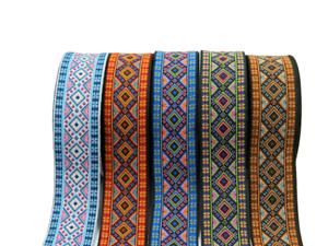 10m  WONDERFUL EMBROIDERED RIBBON/TRIM*Aztec Ethnic Various colours