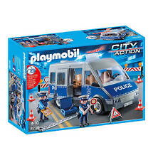 Playmobil  9236 City Life Police Van Real sound / Light   NEW  / SEALED 2017