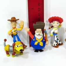 "Toy Story 2 Woody's Roundup 2"" Figure Bullseye Jessie Stinky Pete Woody Lot 4"