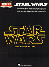 Star Wars (R) John Williams Songbook Noten für Blockflöte