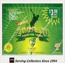 Cricket Card Box--2009-10 Select Cricket Trading Cards Factory Box (36 Packs)