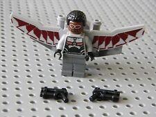 Lego Super Heros - Falcon Minifigure with Accessories  New Condition !!