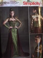 Simplicity GOT, Cosplay,OUAT, Fantasy Queen 6-14 Pattern New