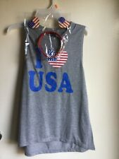 I LOVE USA  TOP FOR G WOMEN SIZE M Modern Lux