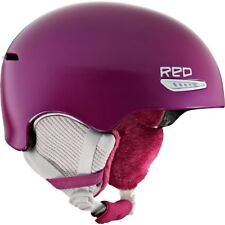 RED Women's XS 53-55cm PURE AVID Ski Snowboard Helmet Plum Pearlized