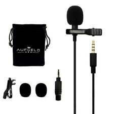 Iphone Android Camera Lavalier Lapel Microphone Mic Omnidirectional Condenser