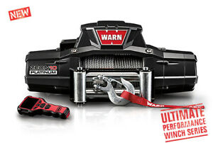 Warn 92810 Zeon Platinum 10 Winch With Wireless Remote For 12V Dc Motor 4536 Kg