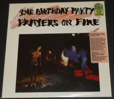 THE BIRTHDAY PARTY prayers on fire USA LP new WHITE MARBLE VINYL #1258/1500