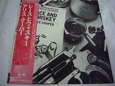 ALICE COOPER-Lace And Whiskey JAPAN 1st.Press w/OBI Kiss AC/DC Motley Crue Ratt