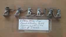 25mm Mini Figs Dutch Militia Command Standing