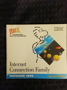 IBM MAX Internet Connection Family Special Edition Disc November 1995