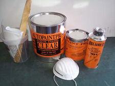 Acrylic enamel clearcoat  auto body shop paint restoration kit