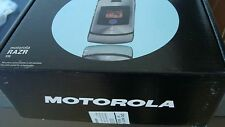 Motorola RAZR V3i Handy- SCHWARZ OhneSimlock NEUWARE originalverpackt 24 Mo Gara