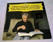 Mozart Symphonies No 32 35 36 Herbert Von Karajan Berliner Philharmoniker Deutsc