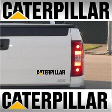 "2 CATERPILLAR 11"" Stickers Decals Cat tailgate toyota Chevrolet Ford Dodge"