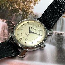 "Vintage WYLER INCAFLEX ""Dynawind"" Wristwatch Serviced No Reserve Auction"