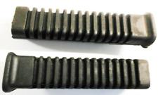 TRIUMPH T140 BONNEVILLE  D & E MODELS RIDERS FOOTREST RUBBERS (PAIR ) 83-7256/59