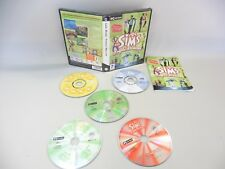 THE SIMS TRIPLE DELUXE GAME FOR PC WITH RECORD WITH 5 CD ROM