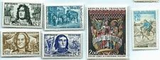 4 Sets Of Stamps From France 1959-1972-1973 Mint Hing Free